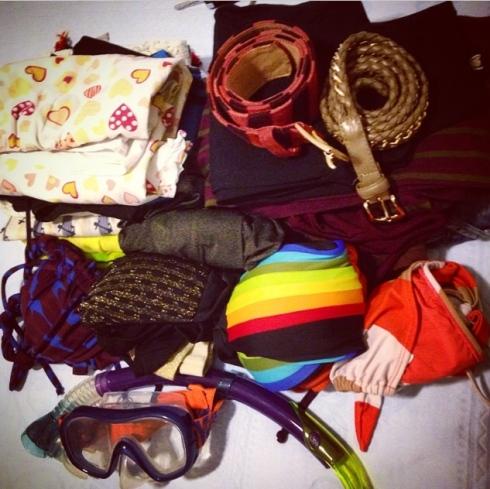 Minha mala - na prática
